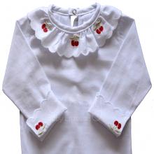 Body bebê cereja vermelha - P