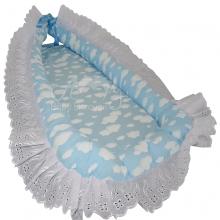Ninho de bebê nuvem azul - 0 á 6 meses