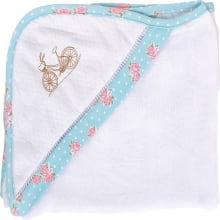 Toalha fralda infantil com capuz primavera