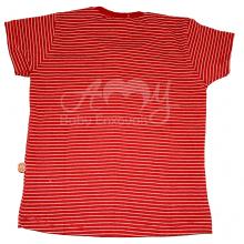 Conjunto infantil camiseta e bermuda bege 2 anos