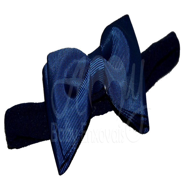 Faixa de seda laço azul marinho - RN
